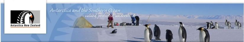 Want to work with Antarctica New Zealand?